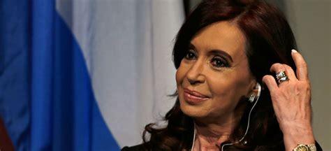 Argentina: Reaparece Cristina Fernández ante rumores por ...