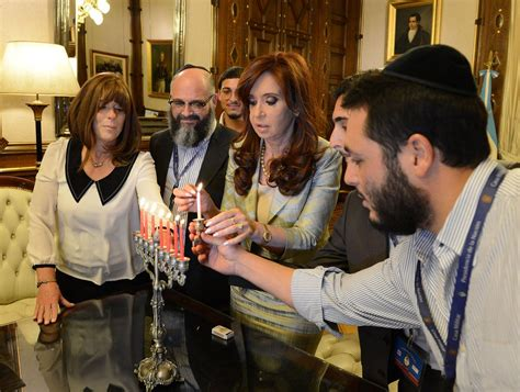 Argentina s President  Adopted  A Jewish Godson