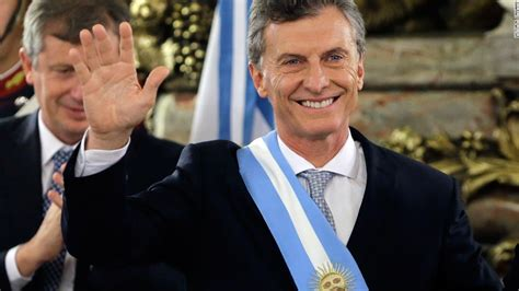 Argentina s president: We re back on the world stage