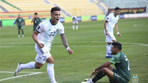 Argentina venció a Bolivia en la altura de La Paz   MendoVoz