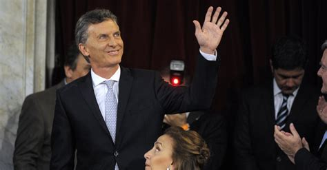 Argentina's New President Is Sworn In Amid Feud With ...