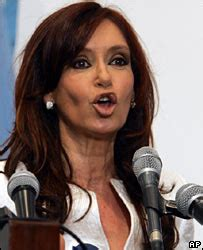 Argentina's president gives a whole new meaning to the ...