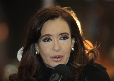 Argentine leader's health recovering, as her dynasty ebbs