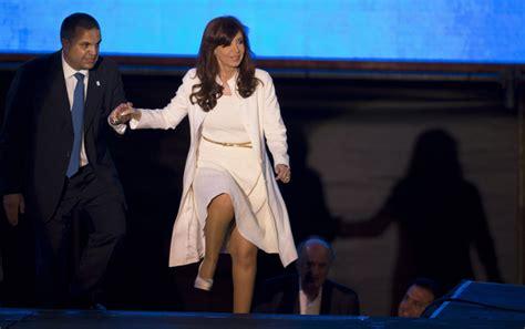 Argentine president broke ankle by slipping on wet floor ...