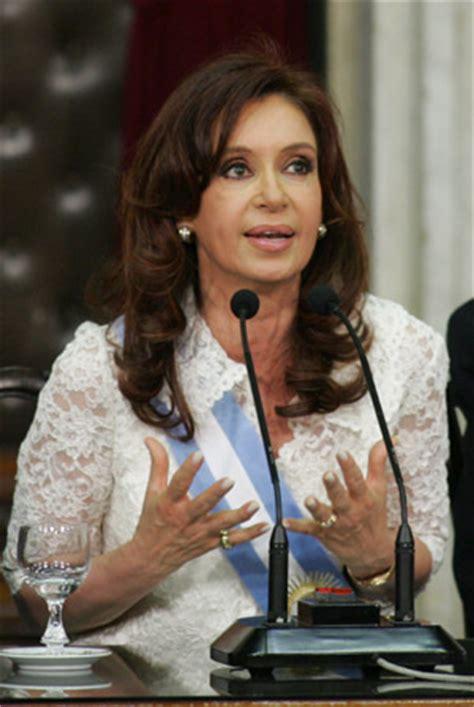 Argentine President Christina Fernandez Says Pork Works ...