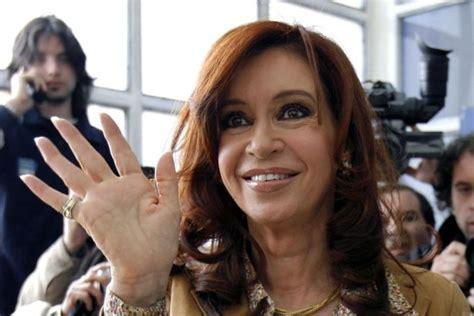 Argentine president Cristina Fernandez de Kirchner   ABC ...