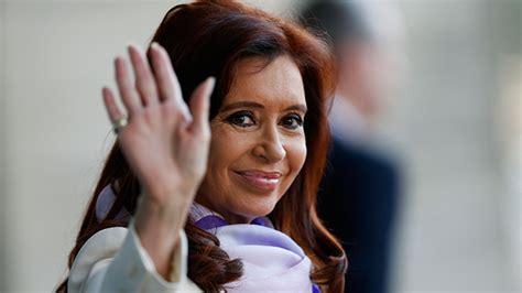 Argentine President Cristina Fernández de Kirchner talks ...