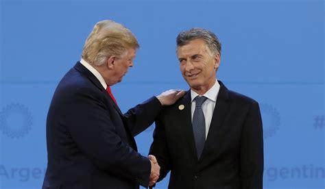 Argentine President Mauricio Macri has a good personal ...