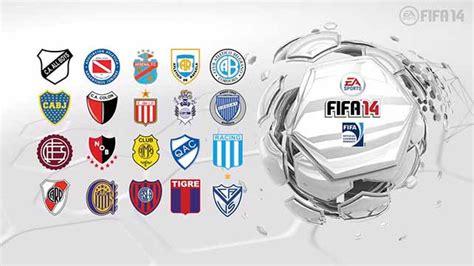 Argentine Primera División Will Be Featured in FIFA 14