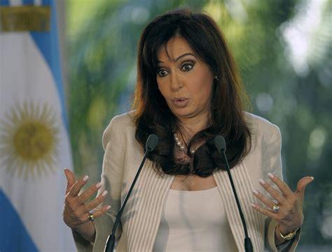 Argentinian President Cristina Fernandez de Kirchner ...