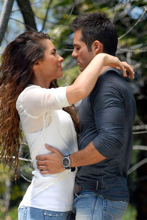 Ariadne Diaz y José Ron