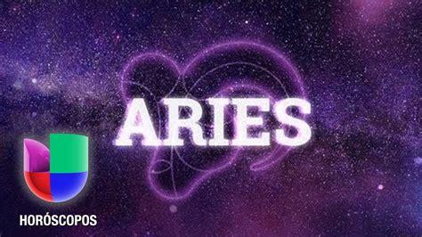 Aries en el mes de Escorpión | Univision Horóscopos   YouTube