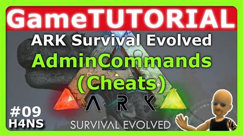 ARK   Admin Commands Cheats Tutorial XBOX ONE #09   YouTube