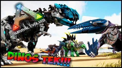 ARK Comandos #04 Como Spawnear Los Dinos Tek!!!  Bionicos ...