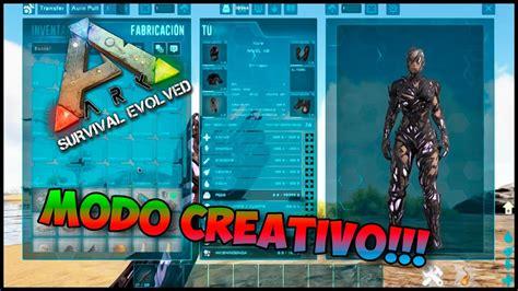 ARK Comandos | Activar el Modo Creativo!!!   YouTube