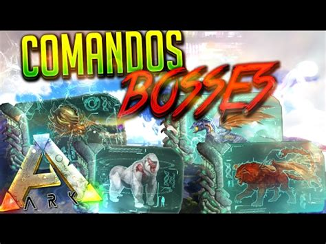 ARK COMANDOS ARMAS Y ROPA PS4/XBOX ONE | ARK SURVIVAL E ...