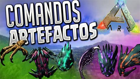 ARK COMANDOS ARTEFACTOS PS4/XBOX ARK SURVIVAL ELVOLVED ...
