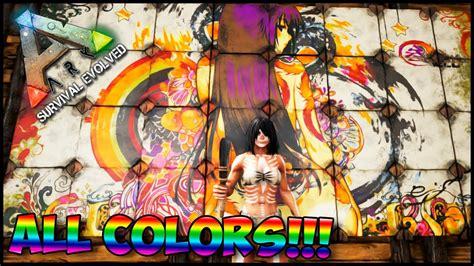 ARK Comandos | Como Spawnear Tintes / Pinturas!!! todos ...