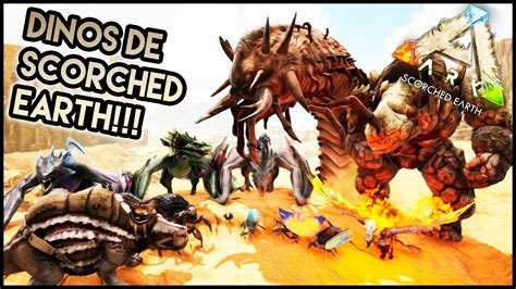 ARK Comandos | Spawnear todos los dinos de Scorched Earth ...