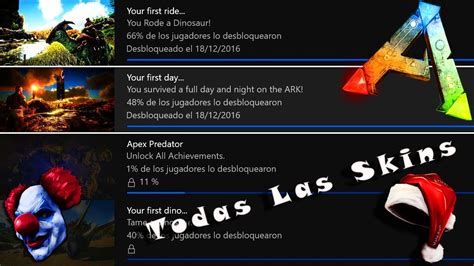 ARK || CONSIGUE TODAS LAS SKINS PC, Xbox, PS4 ...