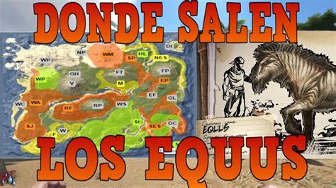 ARK DONDE ENCONTRAR LOS EQUUS RESPAWN DE LOS CABALLOS ...