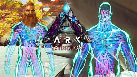 ARK EXTINCTION COMO SPAWNEAR NUEVA SKIN HOMO DEUS!! CON ...