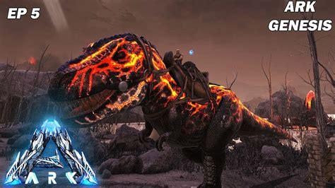 ARK GENESIS : On capture un x Rex magnifique ! Ep5   YouTube