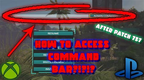 ARK   HOW TO ACCESS THE ADMIN COMMAND BAR   USE CONSOLE ...