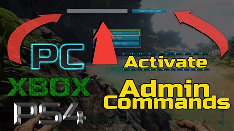 Ark: how to Activate Admin Commands *for all consoles ...