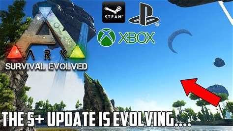 ARK is Finally evolving on CONSOLE! The S+ MOD UPDATE ...