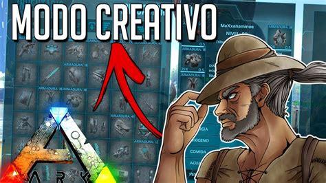 ARK MODO CREATIVO!! MAS COMANDOS NUEVOS!! GAMEPLAY EN ...