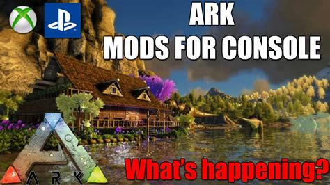 ARK   MODS FOR CONSOLE!   S+ Mod FOR CONSOLE?   What s ...
