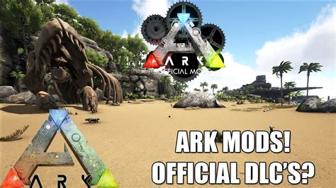 ARK: MODS!   NEW OFFICIAL DLC S COMING?   WILDCARD NEED ...
