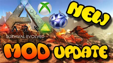 ARK NEWS: Xbox One/PS4 Update   OFFICIAL MODS COMING   YouTube