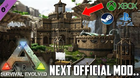 ARK NEXT *FREE* OFFICIAL MOD!   XBOX/PS4/PC   YouTube