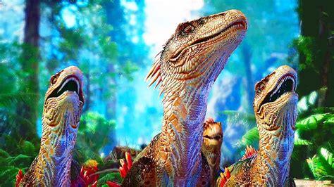 ARK PARK Gameplay  2017  Jeu avec des Dinosaures   YouTube
