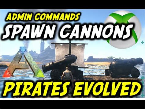 Ark Pirates Evolved: How To Spawn Cannons/Admin Commands ...