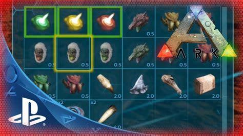 ARK PS4  Items / Gegenstände für Tek Höhle Alpha Beta ...