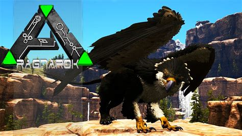 ARK RAGNAROK NOVA DLC   Nova Criatura, Griffin!   YouTube