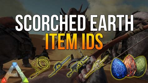 ARK SCORCHED EARTH ITEM ID s   ARK ITEM IDs LIST FOR ...