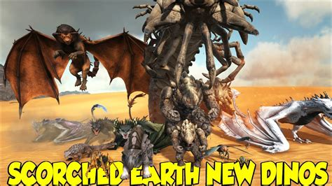 ARK SCORCHED EARTH NEW DINO S AND WHAT THEY DO   YouTube