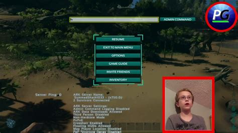Ark survival admin commands! Facecam border test!   YouTube