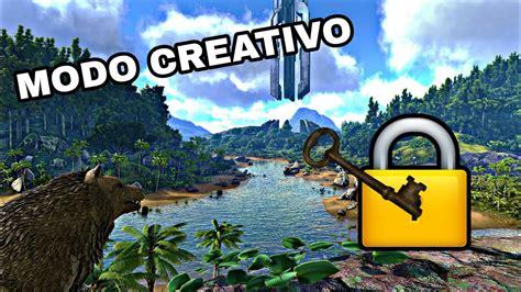 ARK SURVIVAL EVOLVED| COMO ACTIVAR EL NUEVO MODO CREATIVO ...