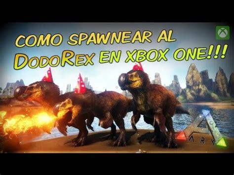 ARK Survival Evolved   Como spawnear DodoRex en xbox one ...