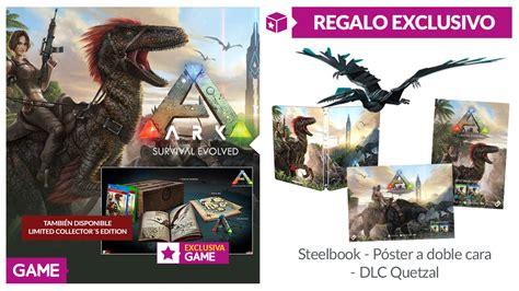 ARK Survival Evolved con regalo exclusivo en GAME ...