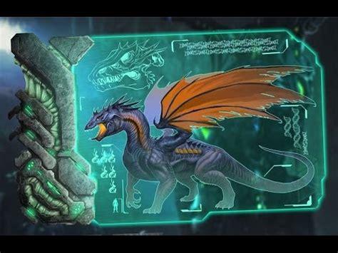 ARK Survival Evolved Dino Dossier   Dragon   YouTube