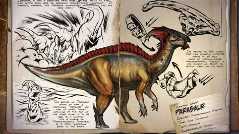 ARK: Survival Evolved   Dino Dossier: Parasaur   Taming ...