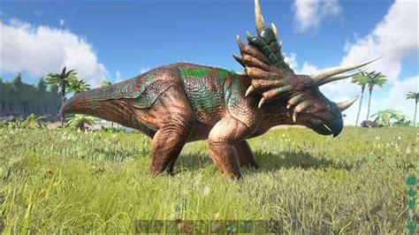 ARK: Survival Evolved   Dino Dossier: Triceratops   Tips ...