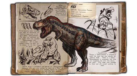 ARK: Survival Evolved   Dino Dossier: Tyrannosaurus