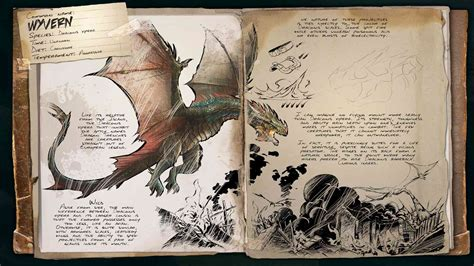ARK: Survival Evolved   Dino Dossier: Wyvern